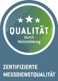 Qualität durch Weiterbildung – Zertifizierte Messdienstqualität